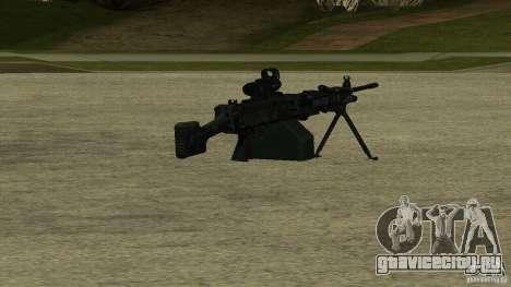 M240 для GTA San Andreas