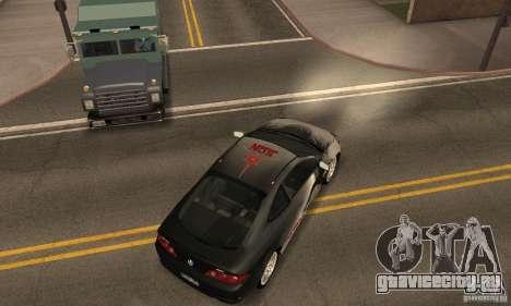 Acura RSX New для GTA San Andreas вид снизу