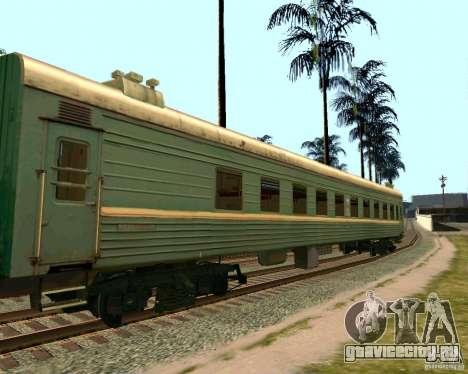 Вагон Российских железных дорог 2 для GTA San Andreas