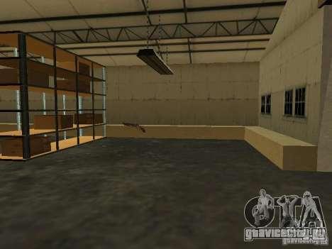 Оживление военной базы в доках для GTA San Andreas шестой скриншот