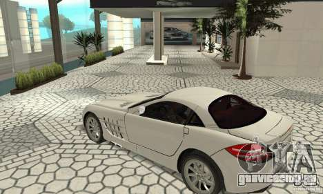 Mercedes-Benz McLaren V2.3 для GTA San Andreas вид изнутри