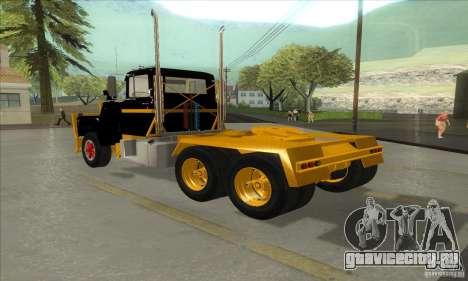 Mack R600 для GTA San Andreas вид справа