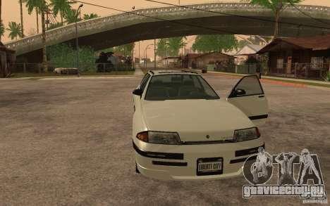 Stratum из GTA IV для GTA San Andreas вид сзади слева