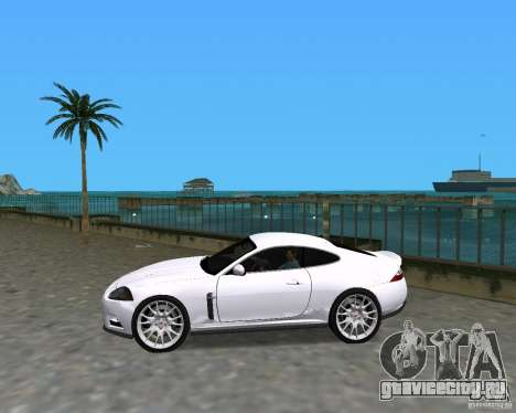 Jaguar XKR S для GTA Vice City вид слева