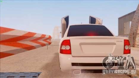 ВАЗ 2170 Sport для GTA San Andreas вид слева