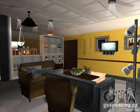 New Interior of CJs House для GTA San Andreas десятый скриншот