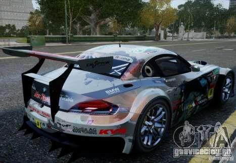 BMW Z4 GT3 2010 V.2.0 для GTA 4 вид слева