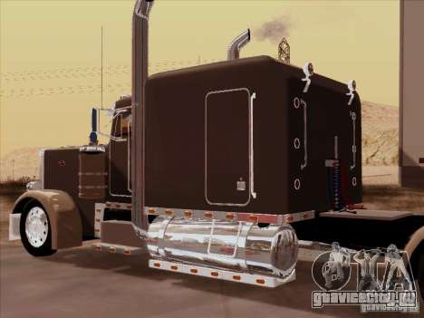 Peterbilt 359 Custom для GTA San Andreas вид сзади