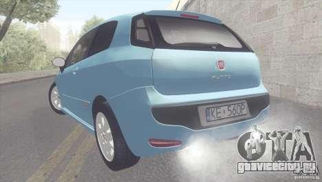 Fiat Punto для GTA San Andreas вид слева