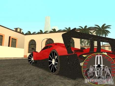 Новый спидометр Lincoln для GTA San Andreas второй скриншот