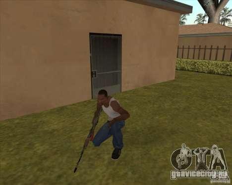 AK-74 с текстурой из Метро 2033 для GTA San Andreas второй скриншот