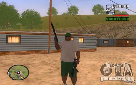 Double weapons для GTA San Andreas