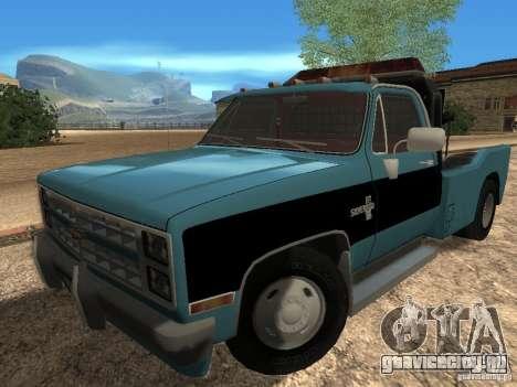 Chevrolet Towtruck для GTA San Andreas вид слева