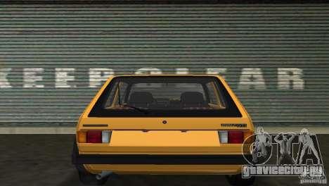 Volkswagen Golf Mk1 GTI для GTA Vice City вид справа