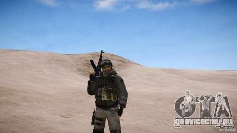 Капитан Прайс из COD MW3 для GTA 4 четвёртый скриншот