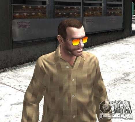 Sunnyboy Sunglasses для GTA 4 третий скриншот
