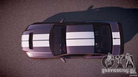 Ford Mustang Shelby GT500 2010 (Final) для GTA 4 вид справа