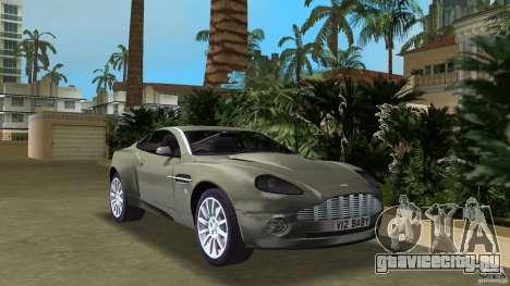 Aston Martin V12 Vanquish 6.0 i V12 48V (2004 - 2007 г.в.) для GTA Vice City