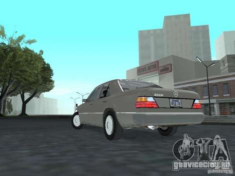 Mercedes-Benz 250D для GTA San Andreas вид сзади слева