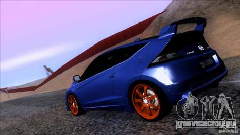 Honda CR-Z Mugen 2011 V1.0 для GTA San Andreas вид слева