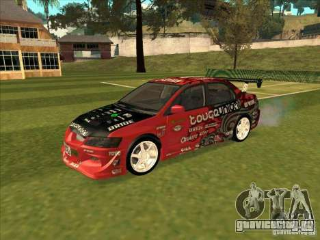 Mitsubishi Evo 9 Touge Union для GTA San Andreas