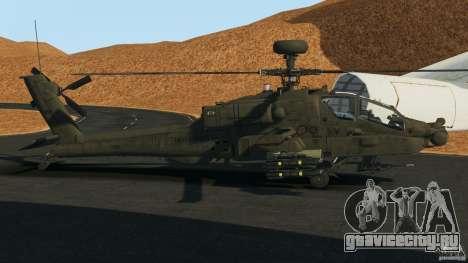 Boeing AH-64 Longbow Apache v1.1 для GTA 4 вид слева