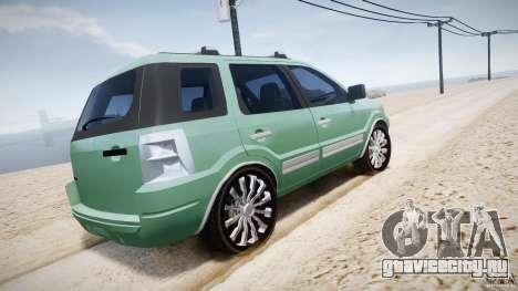 Ford EcoSport для GTA 4 двигатель