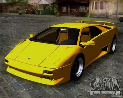 Lamborghini Diablo VTTT Black Revel для GTA San Andreas