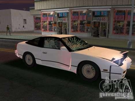 Nissan 200SX для GTA Vice City вид сзади