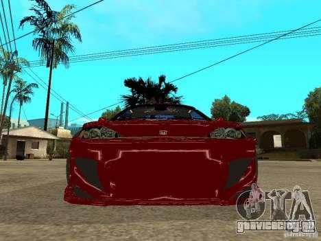 Honda CRX ED9 для GTA San Andreas вид справа