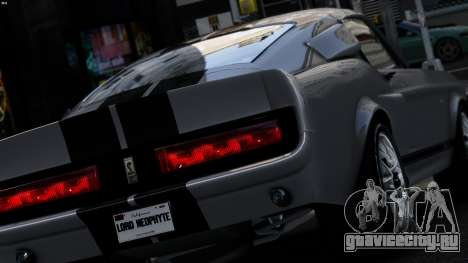 Ford Shelby Mustang GT500 Eleanor для GTA 4 вид слева
