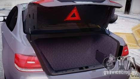 BMW M3 E92 stock для GTA 4 вид сверху
