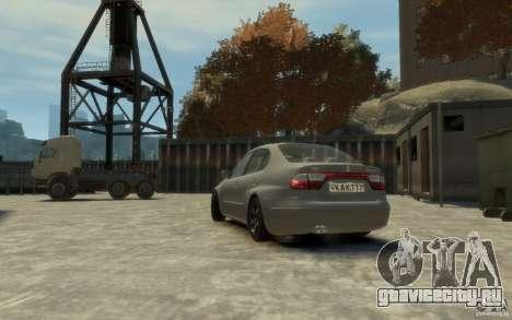 Seat Toledo 1.9TDi Sedan для GTA 4 вид слева