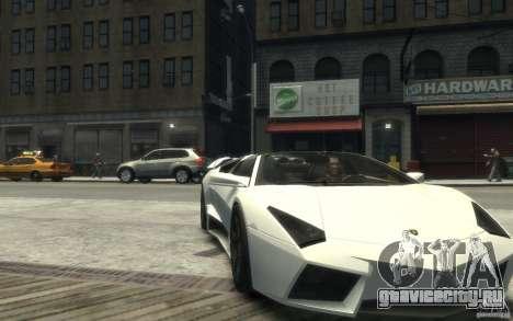 Lamborghini Reventon Roadster REDUX [EPM] для GTA 4 вид сзади