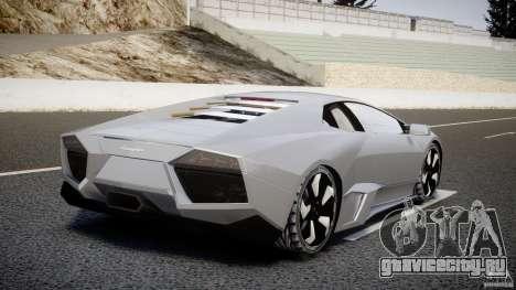 Lamborghini Reventon v2 для GTA 4 вид сзади слева
