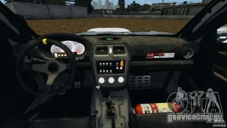 Subaru Impreza WRX STI N12 для GTA 4 вид сзади