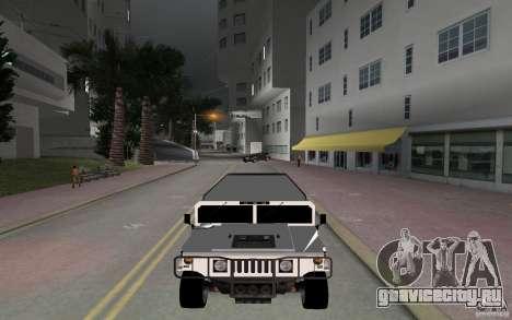 HUMMER H1 limousine для GTA Vice City вид справа