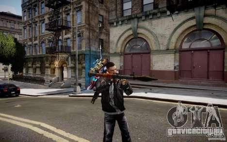 RPG-7 из MW3 для GTA 4 второй скриншот