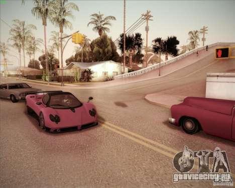 Pagani Zonda F V1.0 для GTA San Andreas вид справа