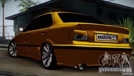 BMW M3 Z366 для GTA San Andreas вид справа