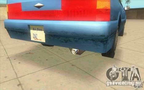 Mad Drivers New Tuning Parts для GTA San Andreas девятый скриншот