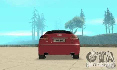 Audi A8L 4.2 FSI для GTA San Andreas двигатель