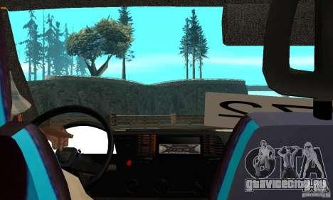 ГАЗель кульная обезбашенная для GTA San Andreas вид справа