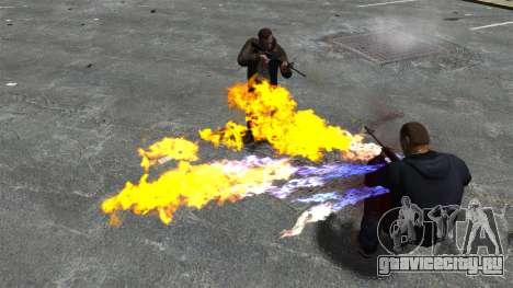 Огненные пули для GTA 4 четвёртый скриншот