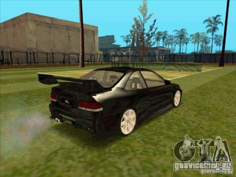 Honda Civic Coupe 1995 from FnF 1 для GTA San Andreas вид сзади слева