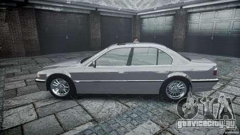 BMW 740i (E38) style 32 для GTA 4 вид сбоку