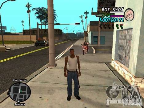 HUD by Hot Shot v.2.2 for SAMP для GTA San Andreas второй скриншот