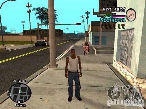 HUD by Hot Shot v.2.2 for SAMP для GTA San Andreas второй скриншот