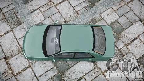 Subaru Impreza v2 для GTA 4 вид справа