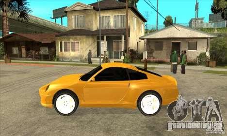 GTA IV Comet для GTA San Andreas вид слева